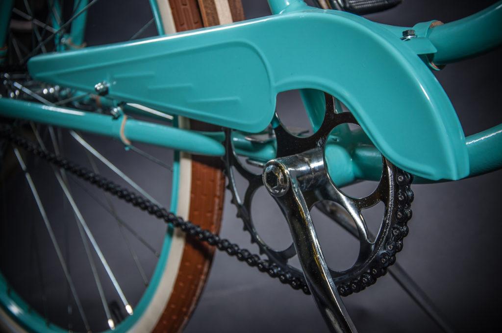 Nový kryt pasuje, jako by na kolo patřil odjakživa...